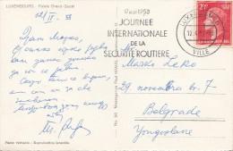 "LUXEMBOURG - Flamme "" Journee Internationale De La Securite Routiere "" - 17 Mai 1958 - Affrancature Meccaniche Rosse (EMA)"