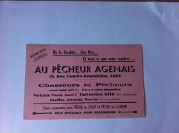 AGEN : Au Pêcheur Agenais , 16, Rue Camille-Desmoulins-    Chasseurs Et Pêcheurs ...... - Sports