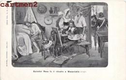 SALVATOR ROSA FA IL RITRATTO A MASANIELLO PITTORE PEINTRE 1900 ITALIA - Artisti