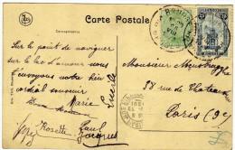 1603    Postal  Bruges 1921 Belgica - Bélgica