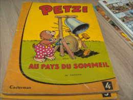 Ancien Petzi : 4 Au Pays Du Sommeil - Petzi