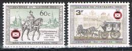 Année 1966 - COB  1395 à 1396  -  75 Ans De La Fédération Royale Des Cercles Philatéliques De Belgique  -  Cote  0,50 &e - Belgium