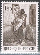 """Année 1971 - COB 1573**  -  Philatélie De La Jeunesse - """"La Boîte Aux Lettres""""  -  Cote  0,25 € - Unused Stamps"""