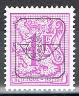 Année 1977 - COB   PR800**  Chiffre Sur Lion Héraldique Et Banderole  -  1F Lilas -  Cote  0,15 € - Precancels