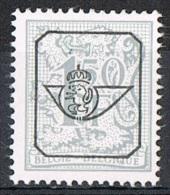 Année 1977 - COB   PR801**  Chiffre Sur Lion Héraldique Et Banderole  -  1,50F Gris -  Cote  0,15 € - Precancels