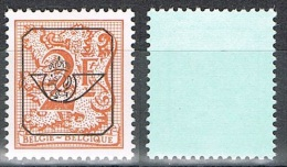 Année 1978 - COB   PREO802P7**   Chiffre Sur Lion Héraldique Et Banderolle -  2F  Orange -  Cote  0,15 € - Precancels
