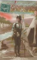 Jeanne D'Arc/Tu Protéges La France :Gloria/ 1914-18       CPDIV127 - Guerra 1914-18