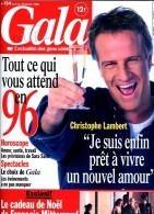 Gala 134 Caroline Mitterrand Mazarine Rod Stewart Dean Martin Christophe Lambert Sarah Marshall Wilde - People