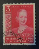 Argentine / /  Eva Peron - WMK A - Filigrane A ??????? - Poste Aérienne