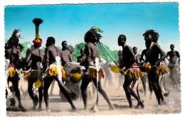 Tchad - R�gion de Daba - Danses apr�s le r�colte du coton