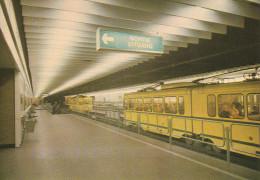 """BRUXELLES (Métro) - L1  -  """"Parc"""".....  (scan Verso). - Metro"""