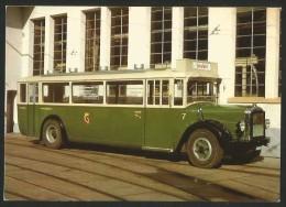 SAURER Stadt-Omnibus Bern SOB Im Hof Des Tramdepots Eigerplatz 1976 - Autobus & Pullman
