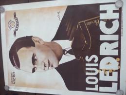 Affiche Musicale Publicitaire Illustrée Par Würth. Louis Lerich Accordéoniste.Edit Micro.Disque Festival.Fratelli Corsio - Plakate & Poster