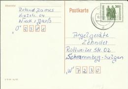 ALEMANIA DDR ENTERO POSTAL MAT WIECK - Postales - Usados