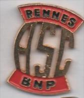 Banque BNP , ASC Rennes - Banken