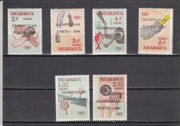 Nicaragua Nº A522 Al A527 - Nicaragua