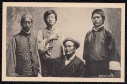 BHUTAN MEN - HOMMES BHUTAN - BHOOTIAS IN DARJEELING - Bhutan