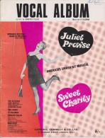 Actress / Singer JULIET PROWSE 1967 Vocal Album For Musical SWEET CHARITY In London - Music & Instruments