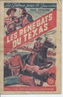 """LES FILMS POUR LA JEUNESSE  N° 4  1948 """" LES RENEGATS DU TEXAS """" TIM MAC COY - Cinéma"""