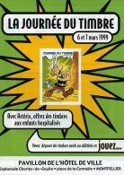 UDERZO - PUBLICITE LA POSTE - ASTERIX ET IDEFIX - LA JOURNEE DU TIMBRE (1999) - JEU CONCOURS - BD BANDE DESSINEE - Livres, BD, Revues