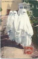 Femmes Arabes/Algérie/ Lenhnert & Landrock/ /Tunis/1914  CPDIV158 - Argelia