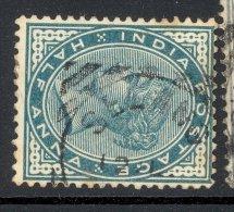 INDIA, Squared Circle Postmark ´SELANG UTTARAKHAND´ On Q Victoria Stamp - India (...-1947)