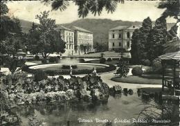 VITTORIO VENETO  TREVISO  Giardini Pubblici  Municipio - Treviso