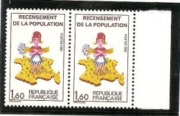 FRANCE  1982-  Timbres Neufs **-variété 2202a  (ref1277 ) - Unused Stamps