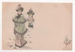 Illustrateur BOUTET - Les Parisiennes - N° 17 - Série 2 - Boutet