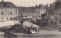 BOULOIRE, Le Marché, écrite - Bouloire