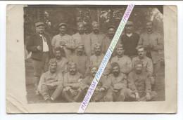 14-18  CARTE PHOTO : 45e RAC ( ORLEANS )  / VERDUN AOUT 1916 / 45e REGIMENT D´ ARTILLERIE DE CAMPAGNE......... - Oorlog, Militair