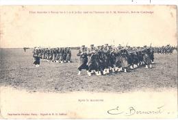 Fêtes Données à Nancy Les 6-7 Et 8 Juillet 1906 En L'honneur De SM. Sissowath Roi Du Cambodge  TB Timbrée - Manoeuvres