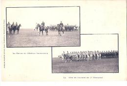 MILITARIA - La Tete De Colone Des Hussards - Revue Timbrée TTB - Regiments