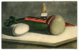Erotisme, Peinture, Symbole Sexuel, Persil, Carotte, Concombre, Abricot, Sexe, Surréalisme - Fine Nudes (adults < 1960)