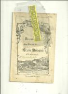 70 - Haute-saône - GY - REVUE DES ELEVES DE L'ECOLE DE MENANS - 32 Pages - 1930 - France