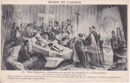 CPA Ouverture Du Cercueil De Napoléon Ier à Saint-Hélène - Salle Napoléon - Musée De L'Armée  (2947) - Politische Und Militärische Männer