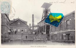 ANZIN (Nord) - Fosse De La Bleuse-Borne - Superbe Carte Animée - Anzin