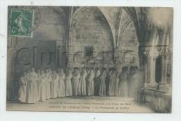 Bruère-Allichamps (18) : Promenade Des Petits Chanteurs à La Croix De Boie Abbaye De Noirlac En 1911 (animé)PF - Autres Communes