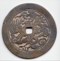 **** VIETNAM - ANNAM - CASH (large Cash) - ERE CANH HUNG (1740-1787) - DYNASTIE DES LÊ **** EN ACHAT IMMEDIAT !!! - Viêt-Nam