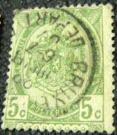 Belgium 1893 Coat Of Arms 5c - Used - Belgique