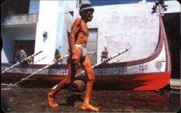Taiwan Telephone IC Card IC03C014 Canoe Ship Aboriginal Culture - Taiwan (Formosa)