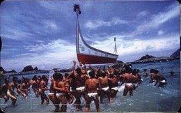 Taiwan Telephone IC Card IC03C013 Canoe Ship Aboriginal Culture - Taiwan (Formosa)