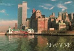 - NOW YORK - Battery Park - 17x12 - Scan Verso - - World Trade Center