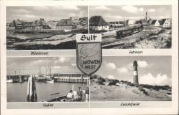 D-25997 Hörnum - Insel Sylt - Alte Ansichten - Möwennest - Train - Railway - Sylt