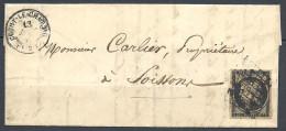 ENV AVEC TYPE CERES N° 3 Signé CALVES TTB - 1849-1850 Cérès