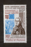 Wallis & Futuna 374 ** Rochambeau - Ongebruikt