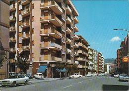 Italien -  Cosenza  - Avenue Roma - Street - Cars - Opel - Shell Petrol Station - Cosenza