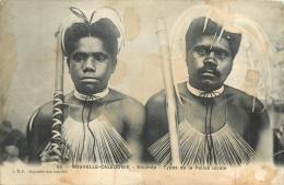 NOUVELLE CALEDONIE  NOUMEA TYPES DE LA POLICE LOCALE - Nueva Caledonia