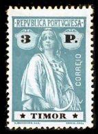 !■■■■■ds■■ Timor 1913 AF#176* Ceres 3 Patacas Chalky I-I (x3634) - Timor