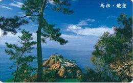 Taiwan Telephone IC Card IC12C012 Matzu Island Pine Scenery - Taiwan (Formosa)